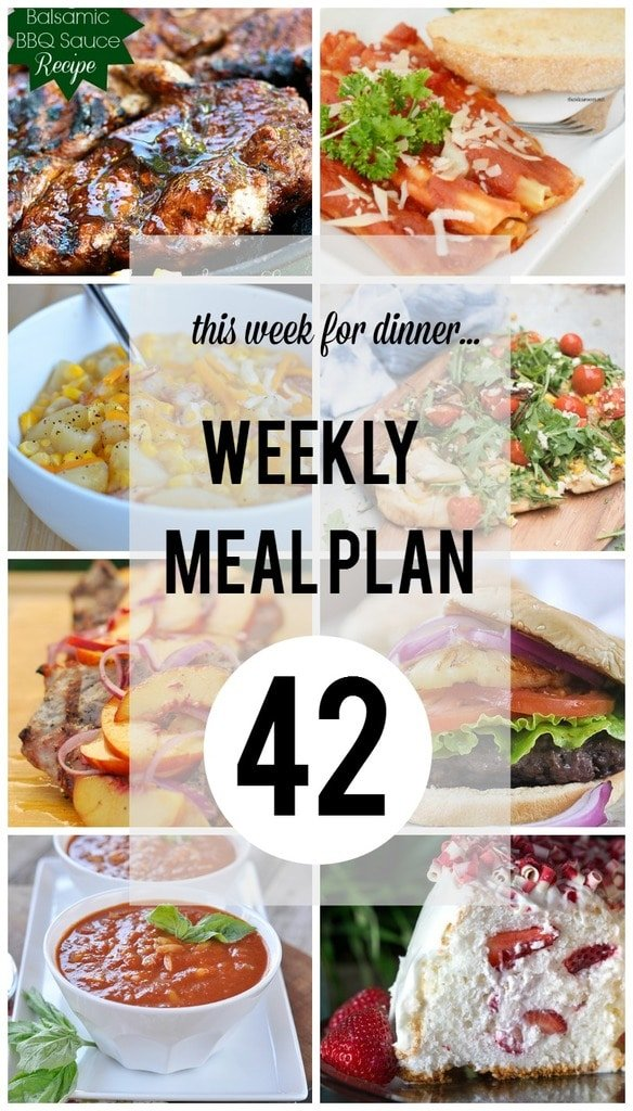 Weekly Meal Plan 42