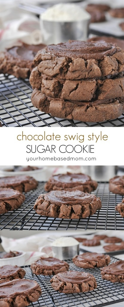 Swig Style Chocolate Sugar Cookies