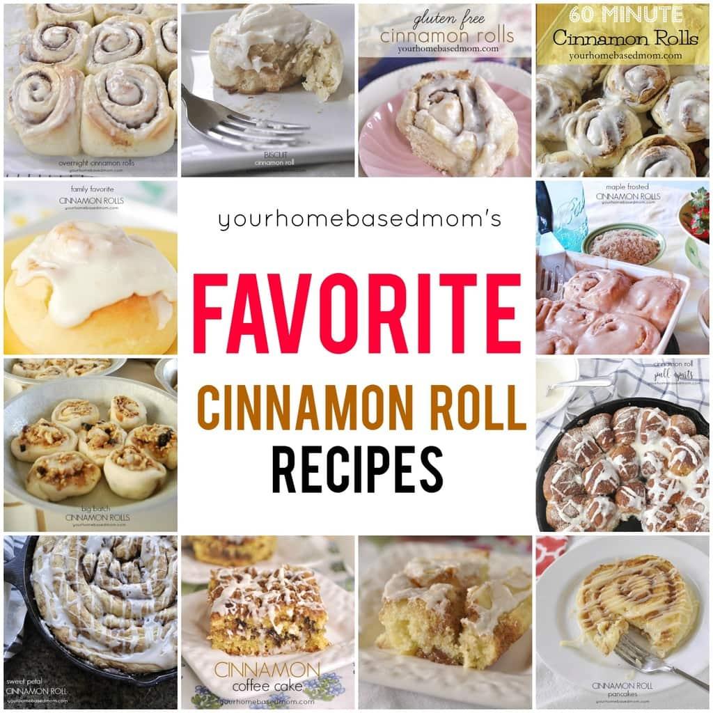Favorite Cinnamon Roll Recipes