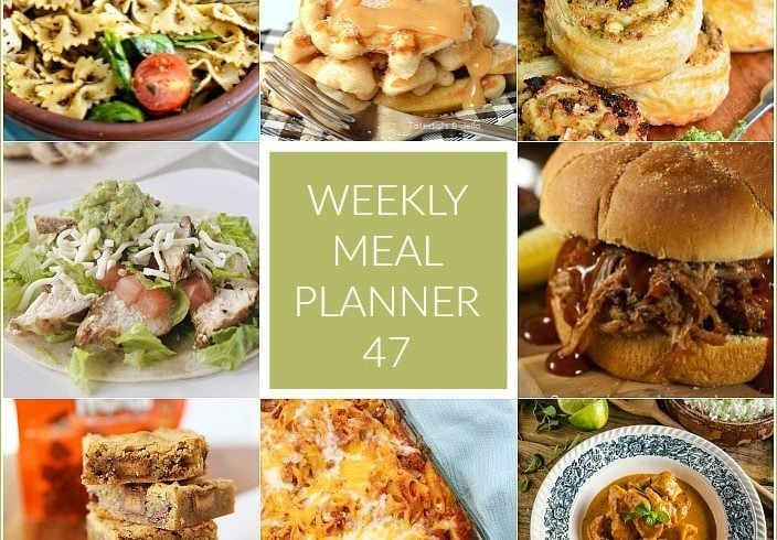 This Week for Dinner}Meal Plan 47