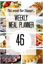 This Week for Dinner} Meal Plan 46