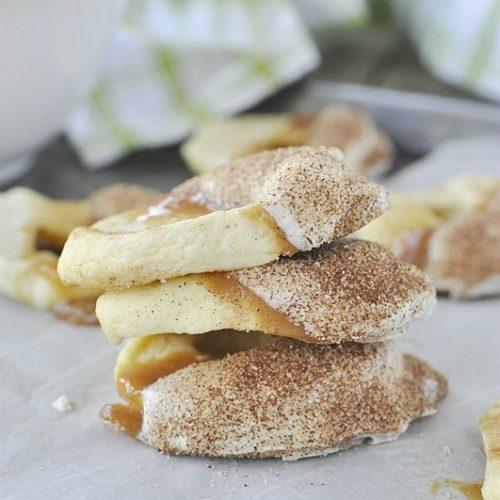 Apple Pie Caramel Apple Slices