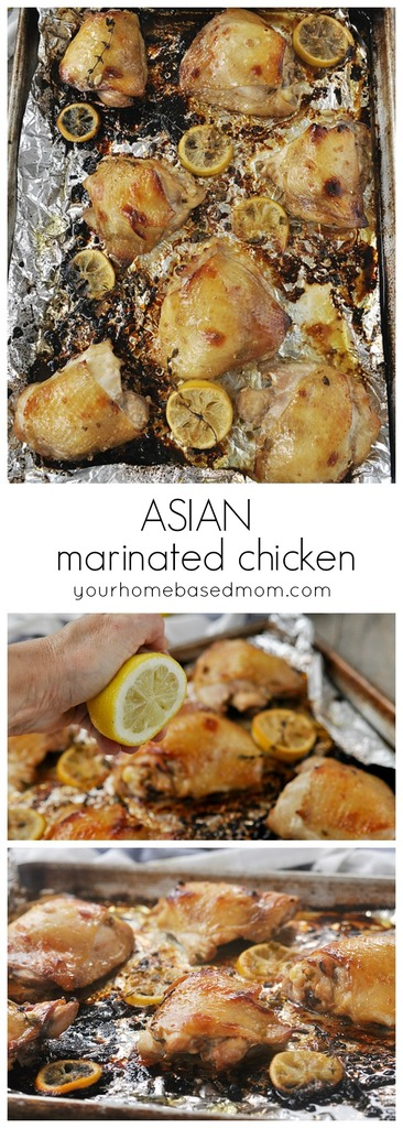 Asian Marinated Chicken will quickly become a family favorite.