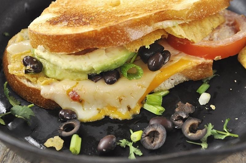 Nacho Grilled Cheese Sandwich