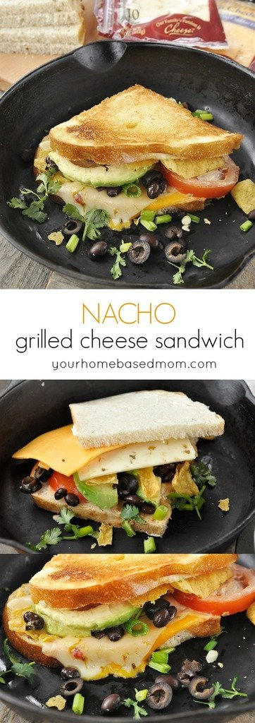 Nacho Grilled Cheese Sandwich