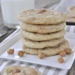 Pumpkin Spice Caramel Snickerdoodles are a fun twist on an old classic - A snickerdoodle cookie taken to the next level