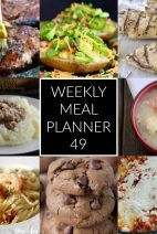 This Week for Dinner}Meal Plan 49
