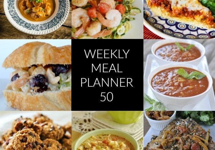 weekly-meal-planner-50 - what's for dinner this week?