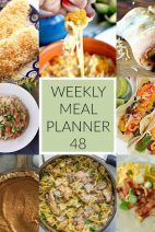 This Week for Dinner}Meal Plan 48