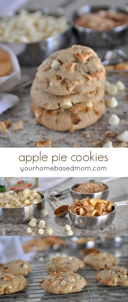 Apple Pie Cookies - the best of both worlds