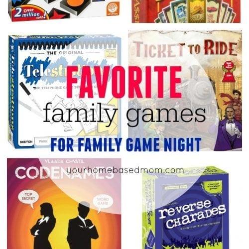 Wilkes Family Favorite Family Games