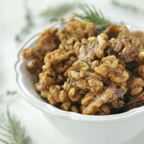 Rosemary & Thyme Candied Walnuts