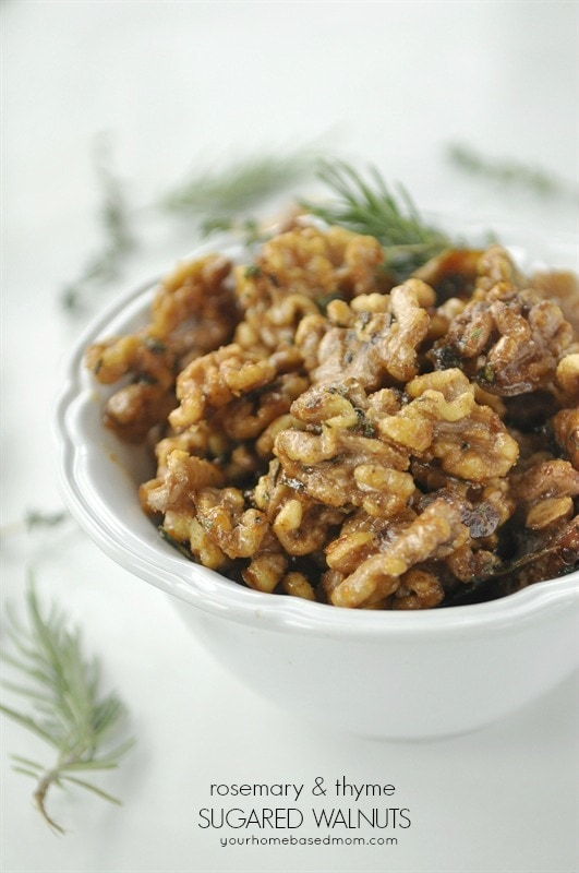 Rosmary & Thyme Candied Walnuts