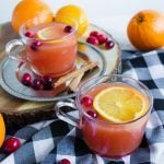 two cups of wassail
