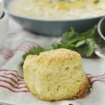 Browned Butter Biscuits and SOup
