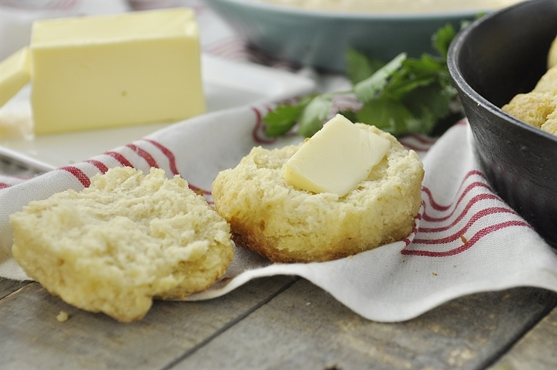 Browned Butter Biscuit