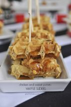 Chicken and Sweet Potato Waffle Sliders and $200.00 Giveaway