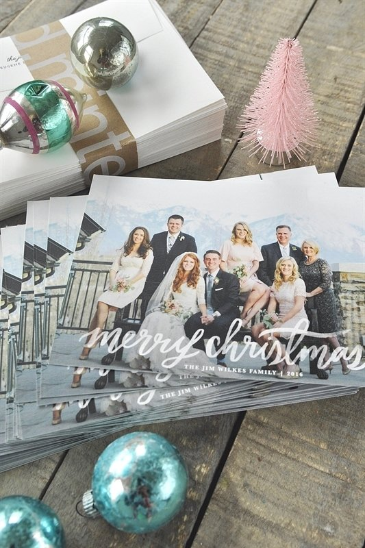 Minted Christmas Card 2016