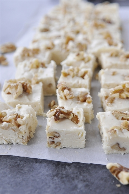 Maple Walnut Fudge pieces