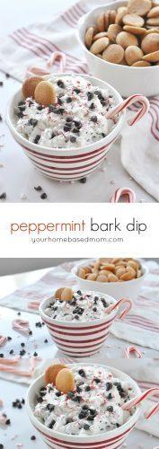 Peppermint Bark Dip