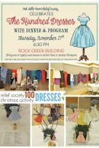 The One Hundred Dresses Relief Society Activity