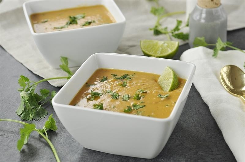 Mashed Sweet Potato SOup