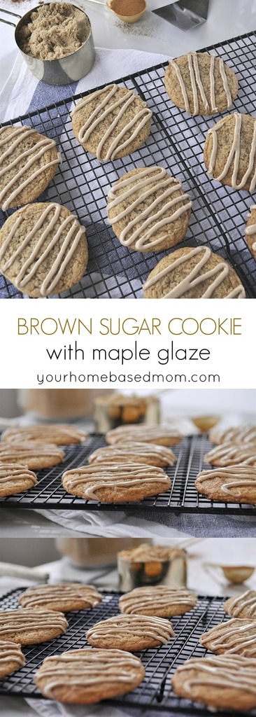 Brown Sugar Cookie with Maple Glaze C