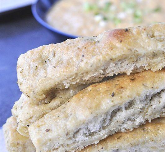 Italian Herb Bread Sticks