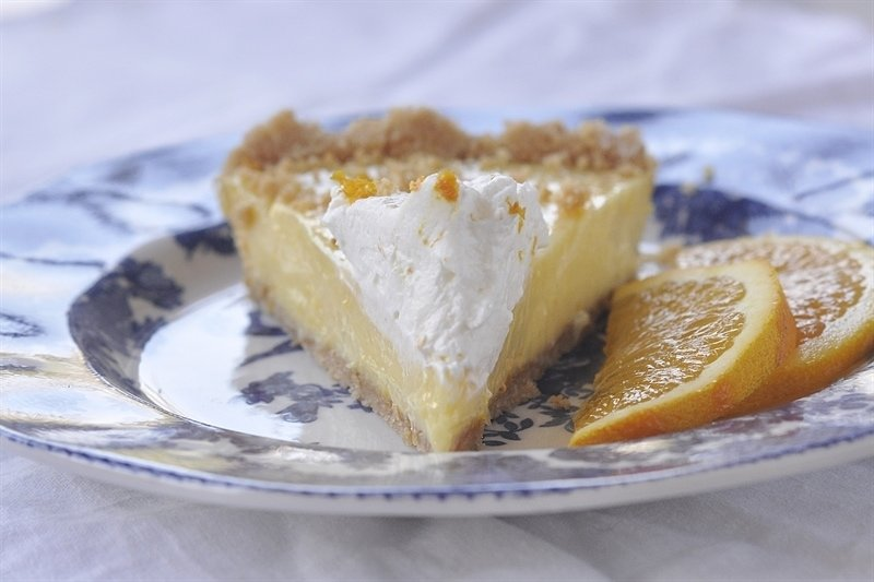 Sunshine Orange Pie lives up to it's name - it tastes just like sunshine should.