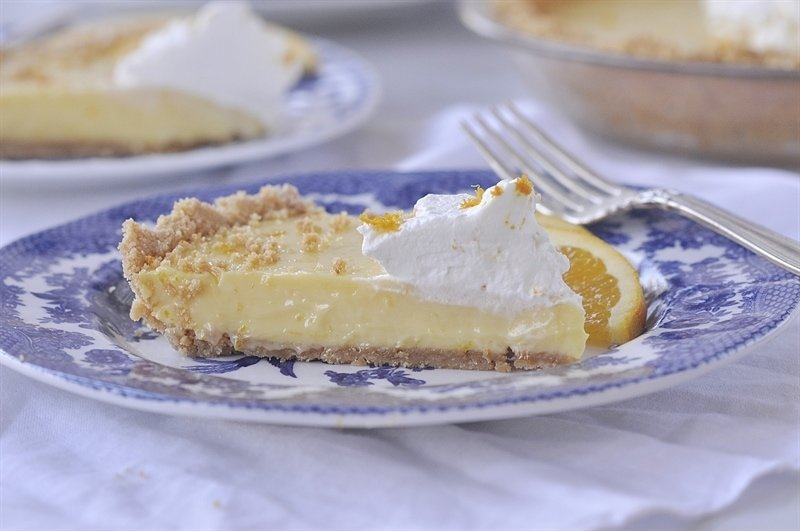 Sour Orange Pie - the perfect amount of orange.