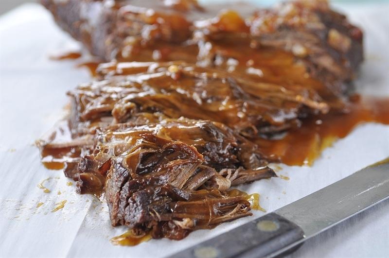Beef Brisket with BBQ Sauce