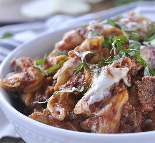 Slow Cooker Baked Zit is guarranteed to become a family favorite.