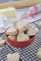 Buttery Shortbread Cookie Bites