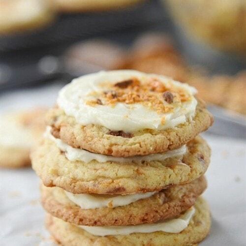 Candy Bar Sugar Cookies