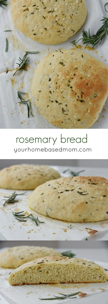 Rosemary Bread is the perfect addition to any meal!