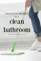 Secret to a Clean Bathroom