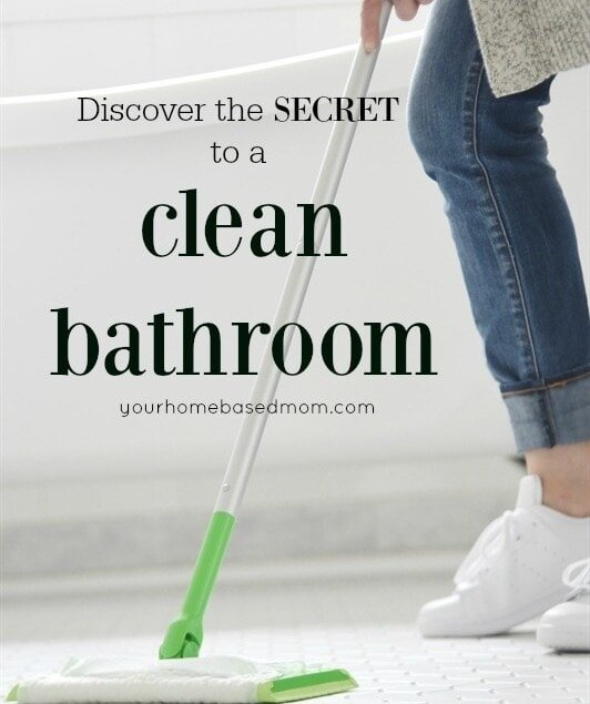 Secrets to a clean bathroom
