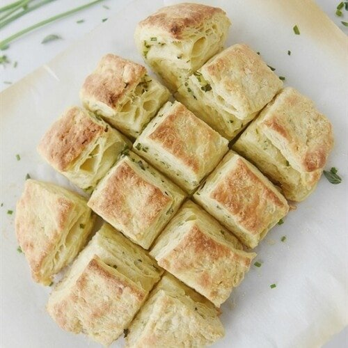 Flaky Herbed Biscuits