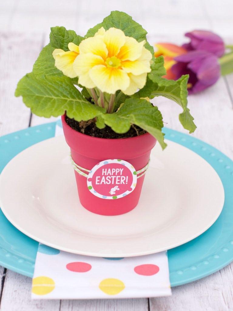 Easter Menu Plan - Flowers for Easter