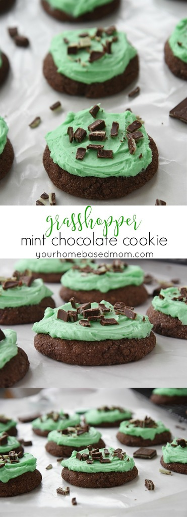 Grasshopper Mint Chocolate Cookie C