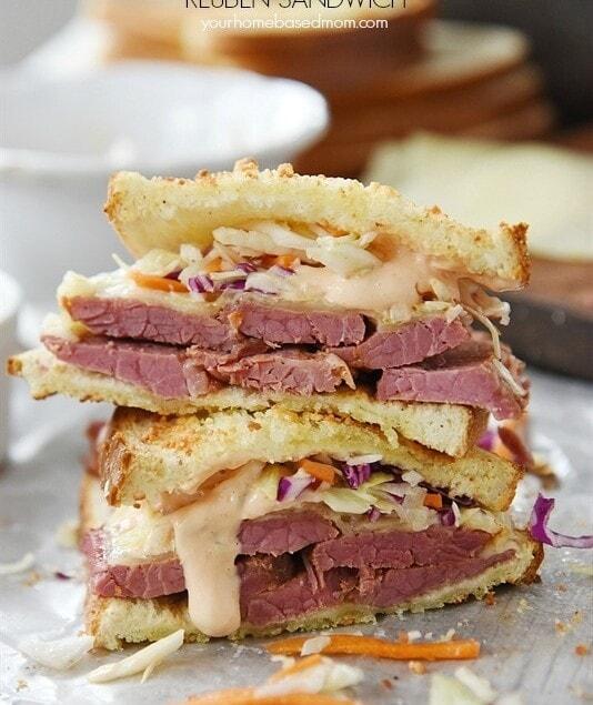 Instant Pot Corned Beef Reuben Sandwich Leigh Anne Wilkes