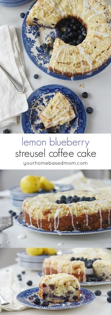 King Arthur Blueberry Coffee Cake