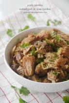 Pork Carnitas Instant Pot or Slow Cooker