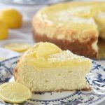 White Chocolate Lemon Cheesecake