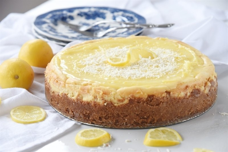 White Chocolate Lemon Cheesecake