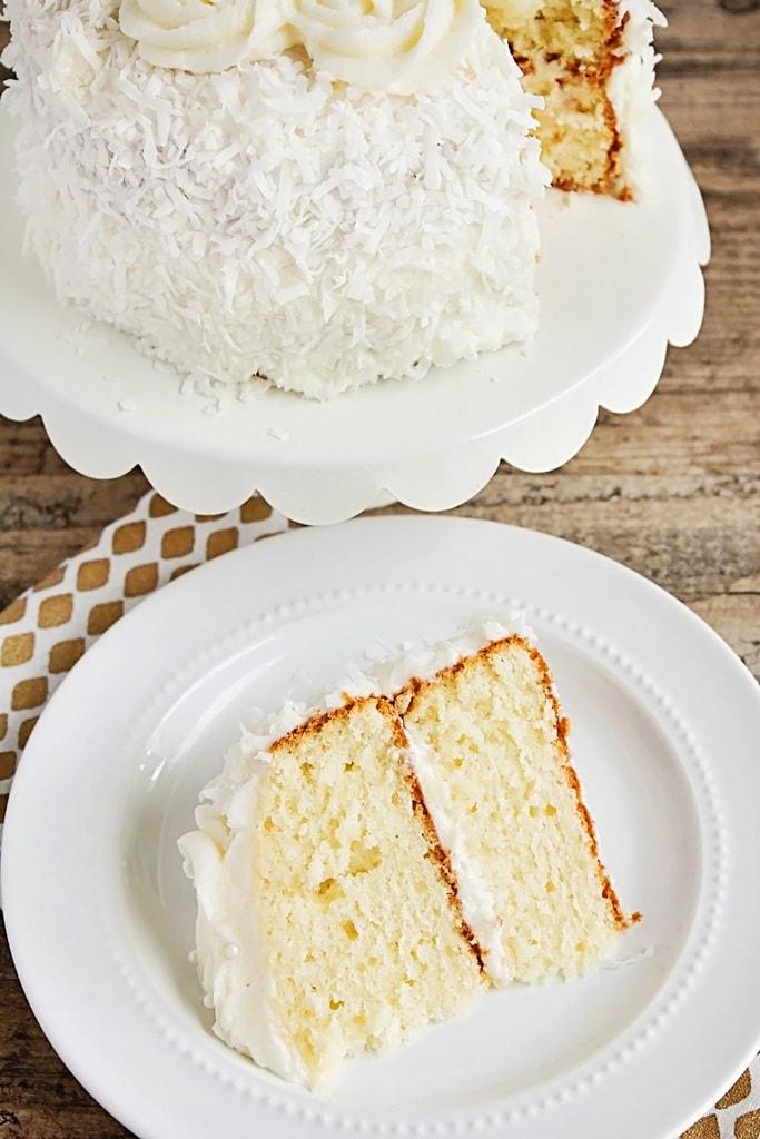Easter Menu Plan - Coconut Layer Cake