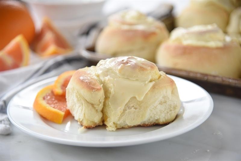 60 minute orange rolls