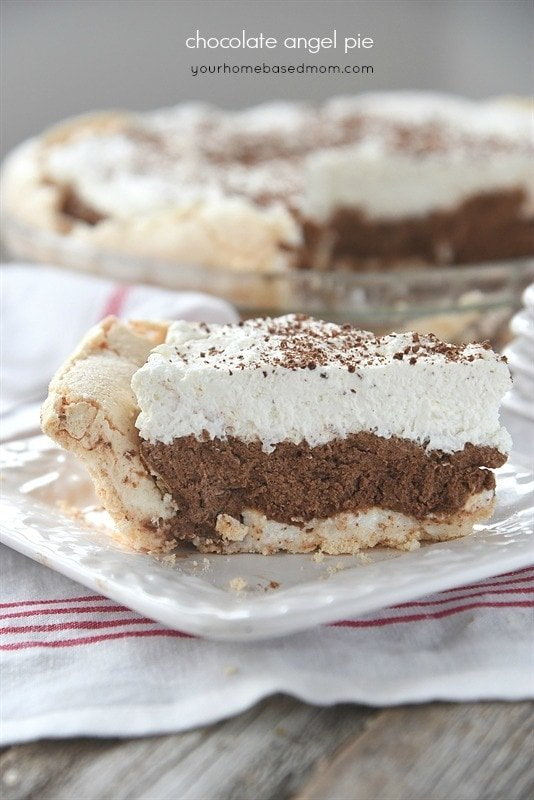 Chocolate Angel Pie