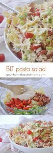 BLT Pasta Salad is the perfect summer side dish