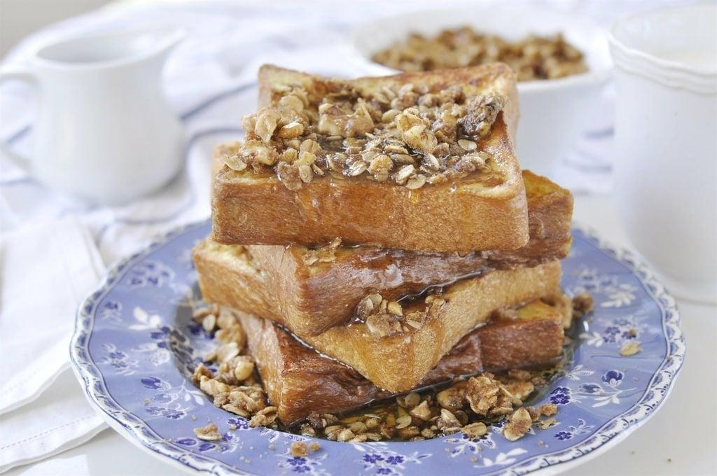 Brioche French Toast with Walnut Crumble